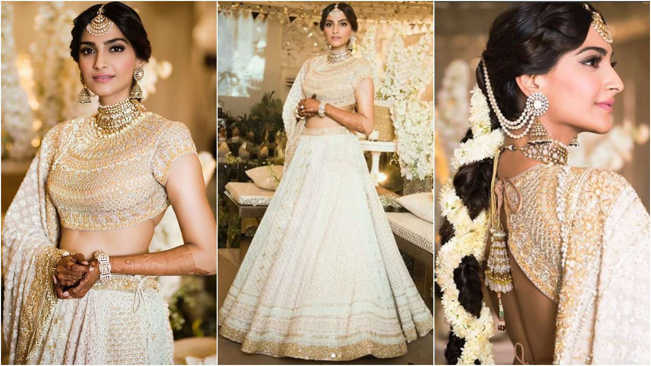 31+ Breathtaking Chikankari Lehengas for a Beguiling Look
