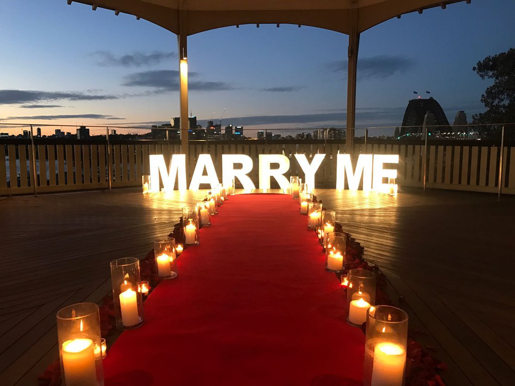 marry me sign proposal ideas