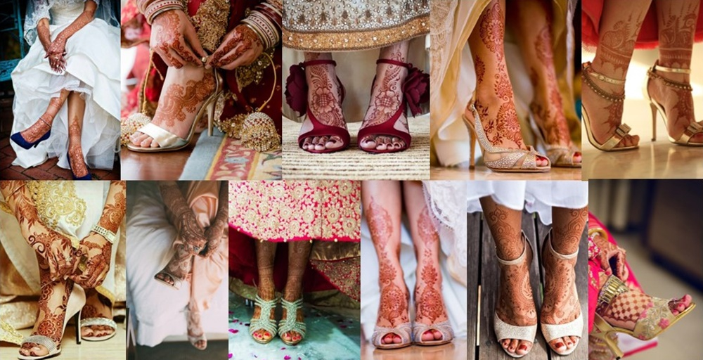 19 Amazing Feet Mehndi Designs That Go Well With Heels