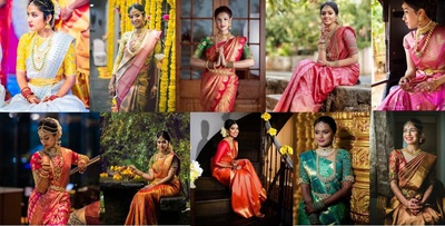 27+ Ways to Style Beautiful Kanjivarams For Your Wedding Day