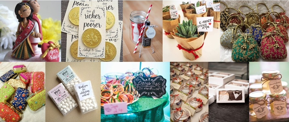 27+ Most Trending Wedding Favours Ideas for Indian Weddings