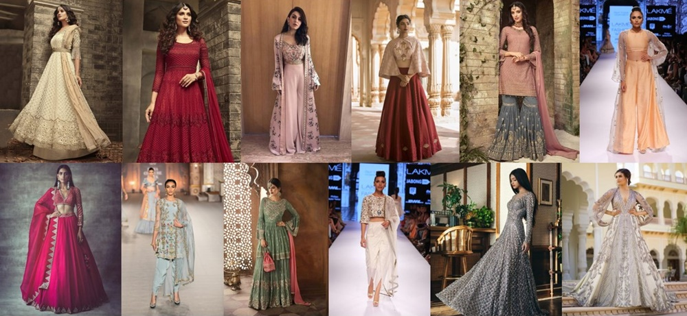 29 Gorgeous Outfits Ideas For Sister Of Bride Groom,Indo Western Dresses For Wedding Reception