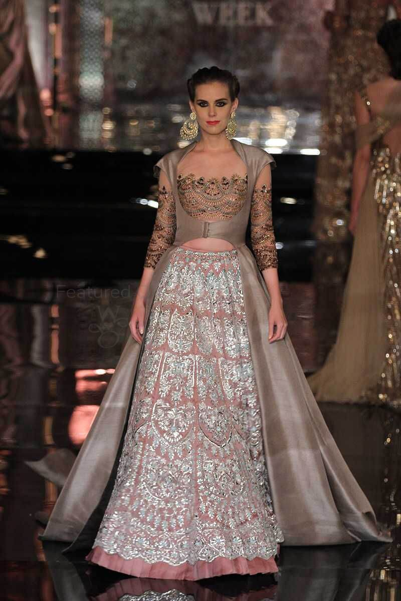 best bridal lehenga with jacket style by rimple and harpreet narula collection