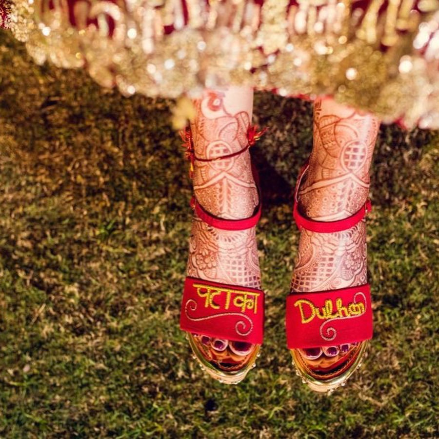 Patakha Dulhan Bridal Sandals for Weddings