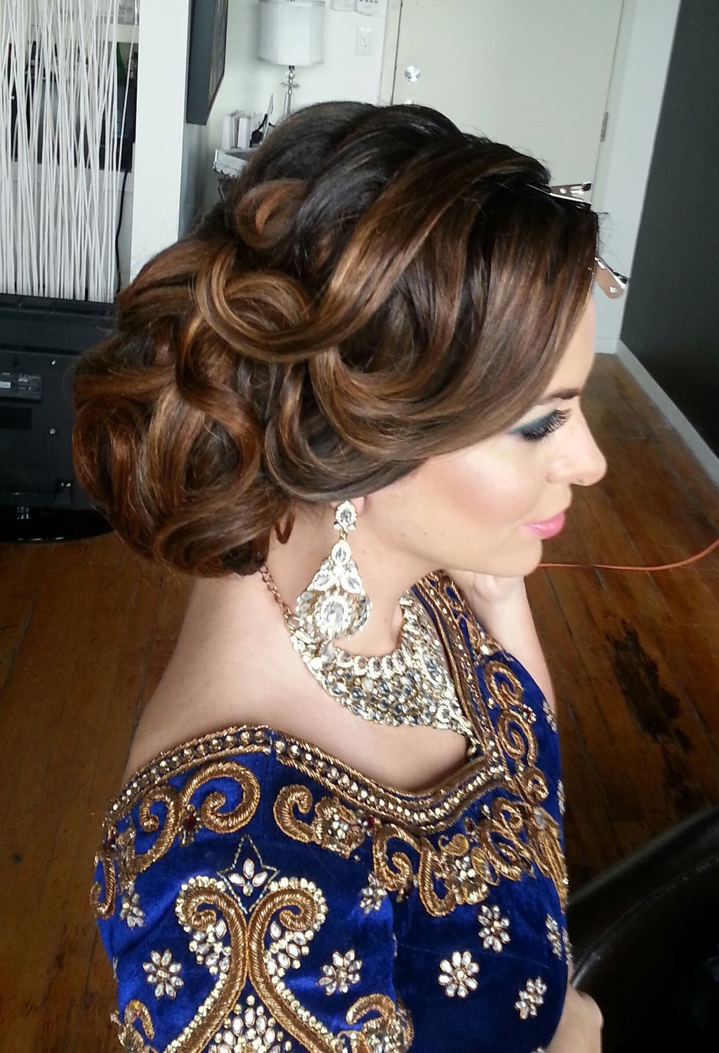 side-bun-hairstyles-for-brides